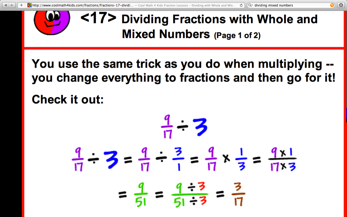 worksheet Dividing Fractions Mixed Numbers dividing mixed numbers mrelders com