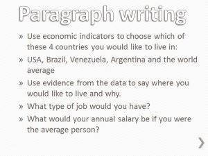 SA Econ Paragraph