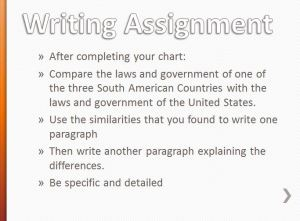 Government Writing