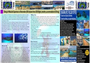 Diving Brochure Side B