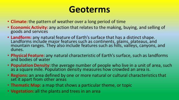 geotermsclimatethepatternofweatheroveralongperiodoftime